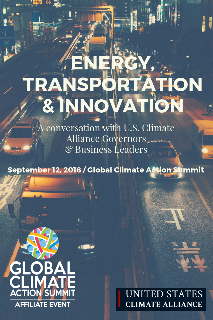 Sept.12 - The global transport industry is changing rapidly, due to three revolutions: electrification, ride sharing and automation. Given the potential for this transformation to provide deep energy and CO2 reductions, this session will look at the U.S. Climate Alliance Governor and industry experience thus far. It will focus on celebrating first movers and examining successes and failures, exploring insights and learnings, and where to next.Click here to RSVP to attend in personLive stream here: https://aka.ms/CEO_Governors_Live