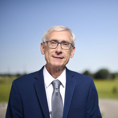Tony Evers, Wisconsin