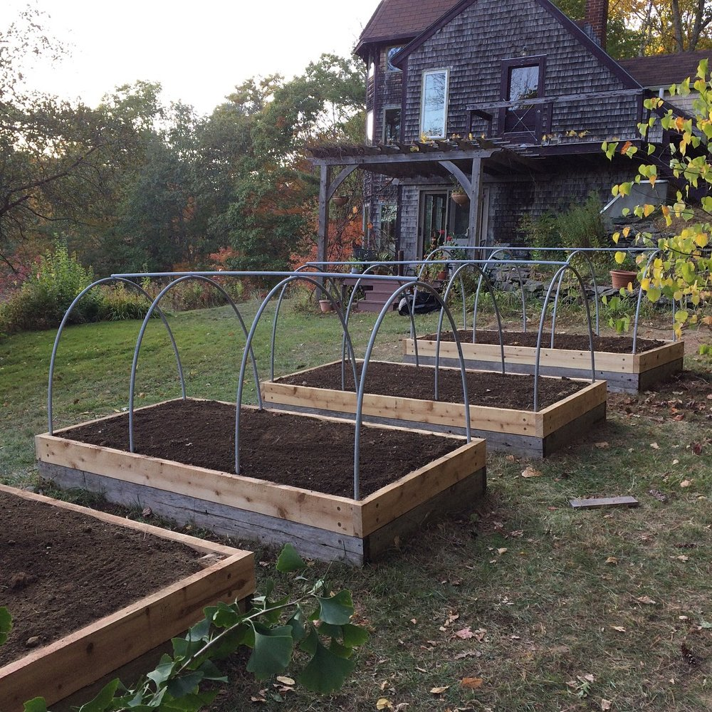 After (Taller beds & season extension capabilities)