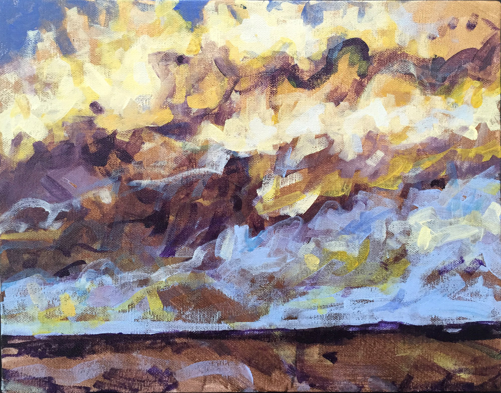 """Fall Foothills"""
