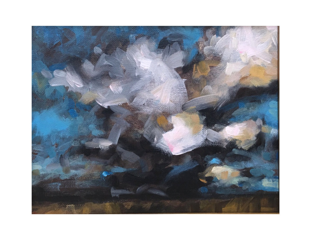 """Late Afternoon Storm"""