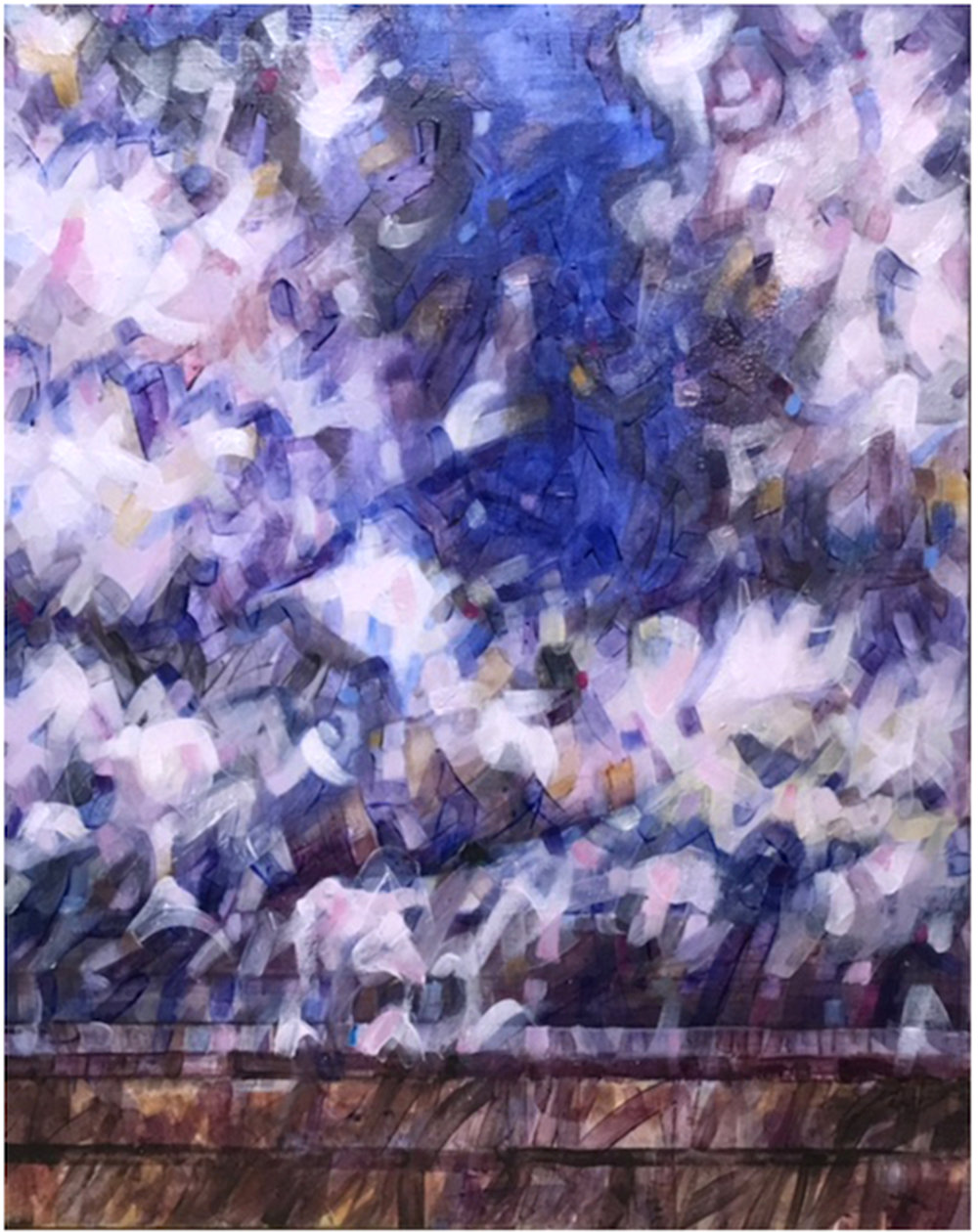 """Moonlit Clouds in Ultramarine"""