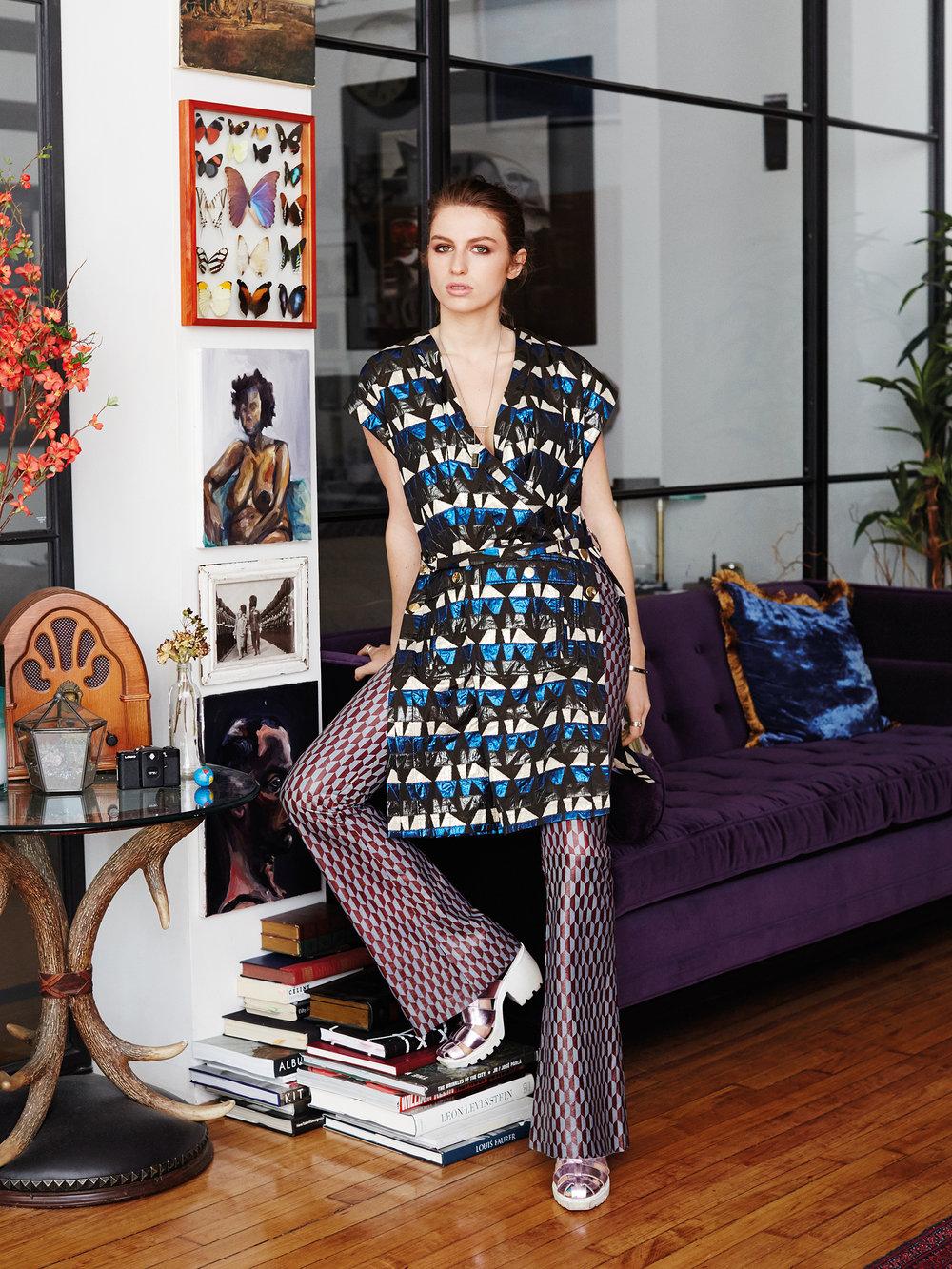 Tali Lennox/Harper's Bazaar Japan