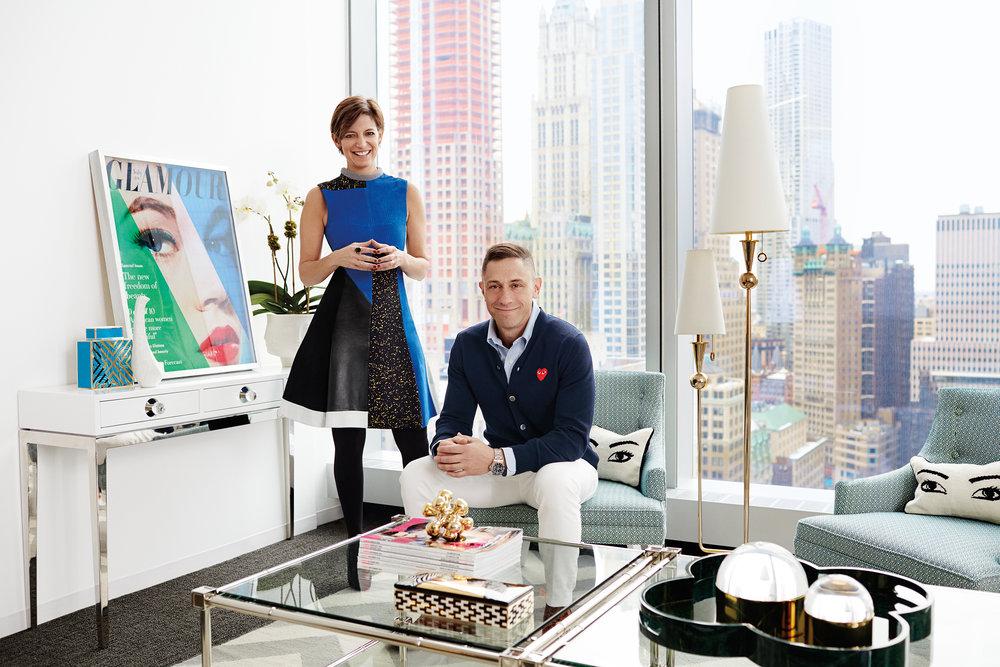 Jonathan Adler & Cindi Leive/ Glamour