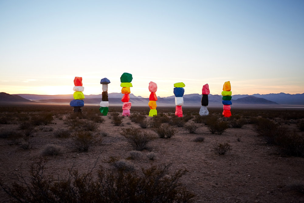 Seven Magic Mountains/ MGM X 21