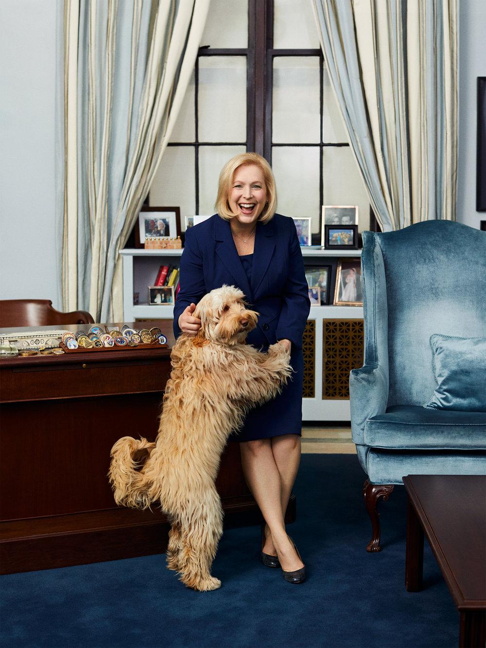 Senator Kirsten Gillibrand/Glamour April 2018