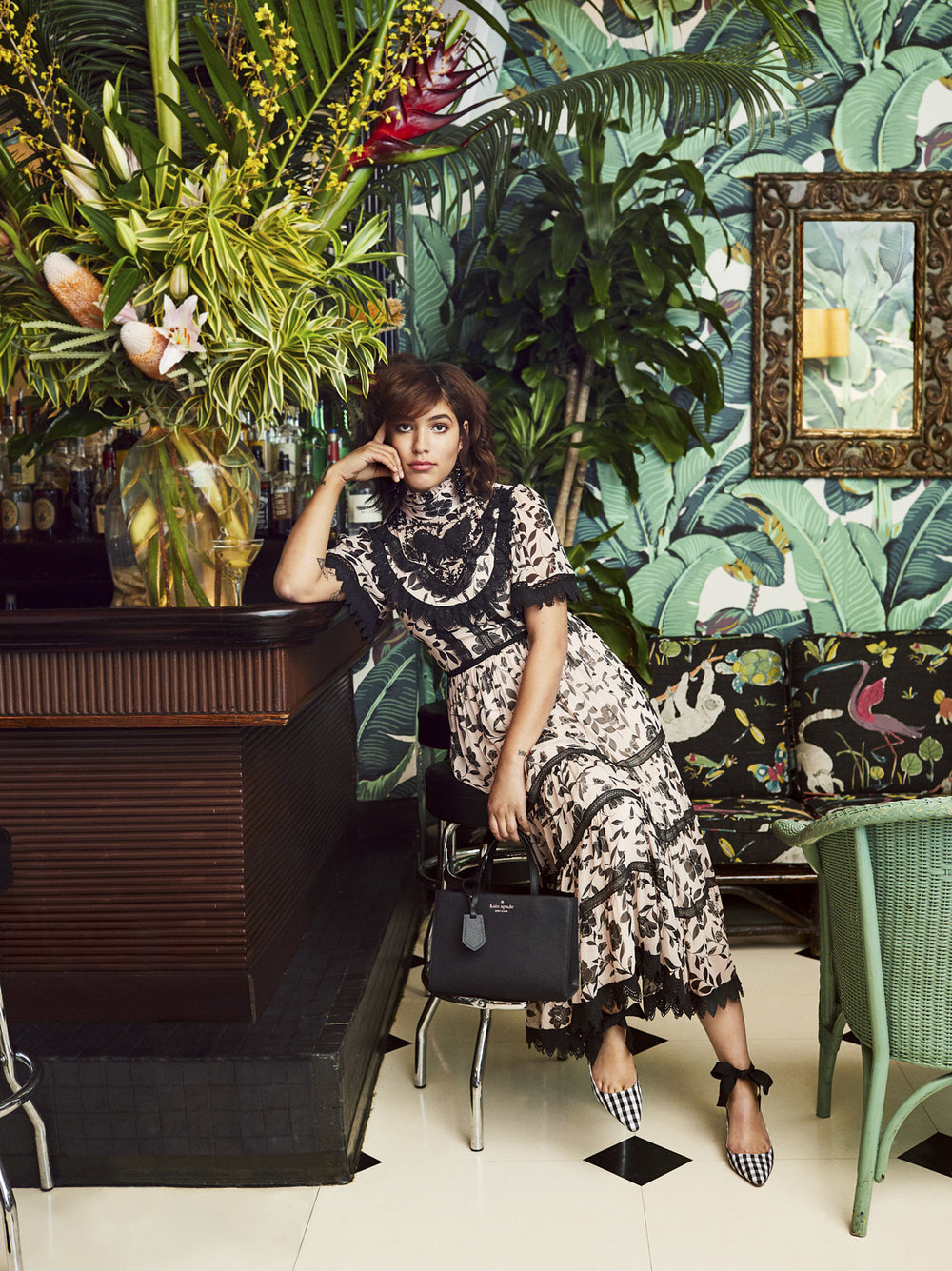 Christina Cardona/Elle Japan x Kate Spade