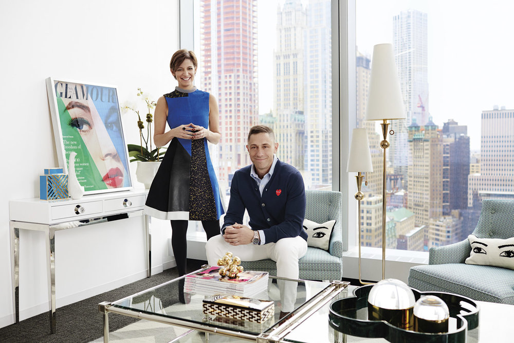 Jonathan Adler & Cindi Leive/Glamour