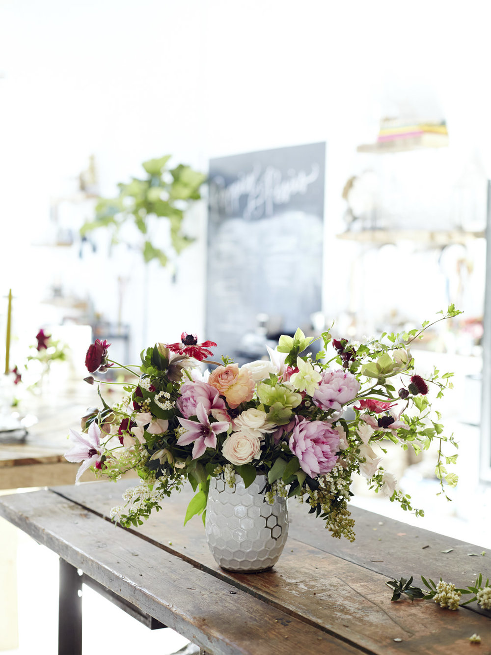 Poppies & Posies/West Elm