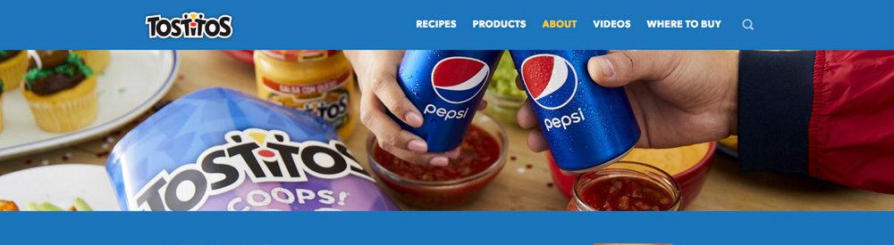 Tostitos & Pepsi