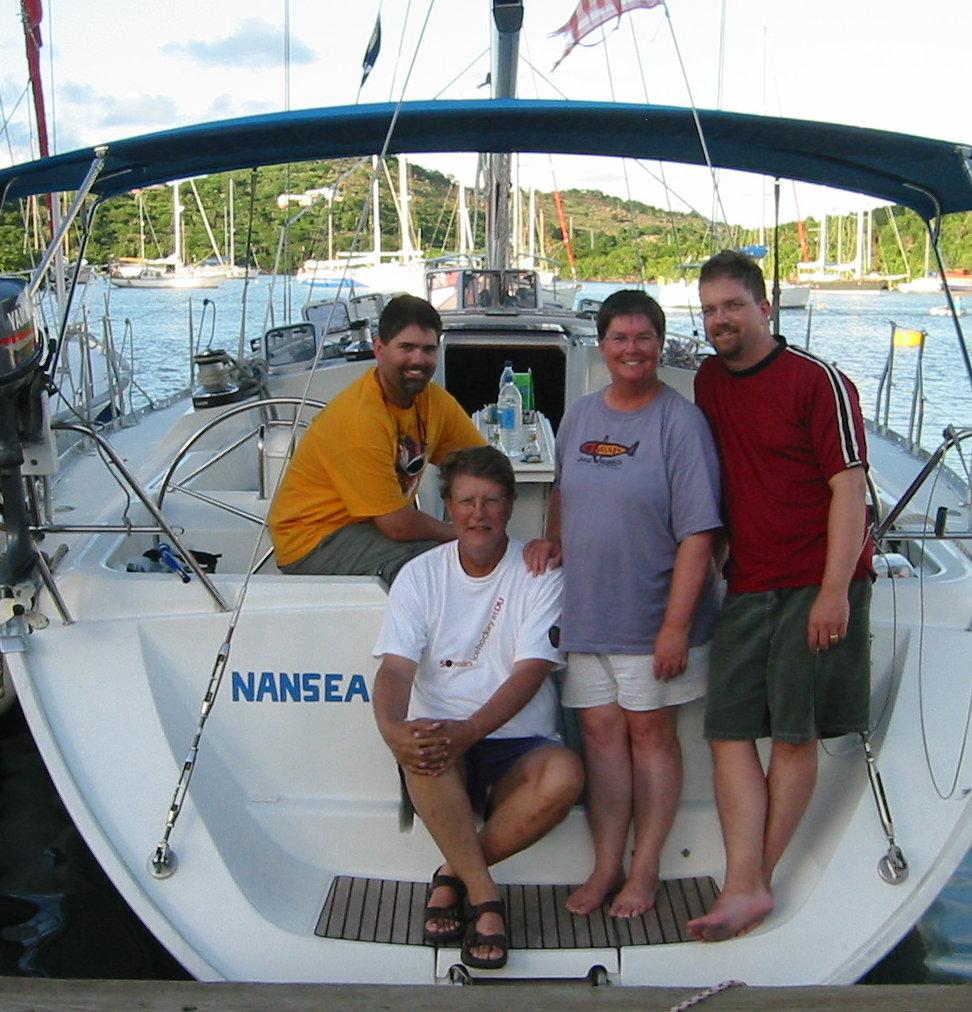 Family on Nansea 2003.jpg