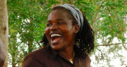IDA MUKAKA  - is a passionate mentor and advocate for women and girls, who works to empower grassroots communillties, particularly those affected by HIV [Zambian national][photo credit: Stephen Lewis Foundation]