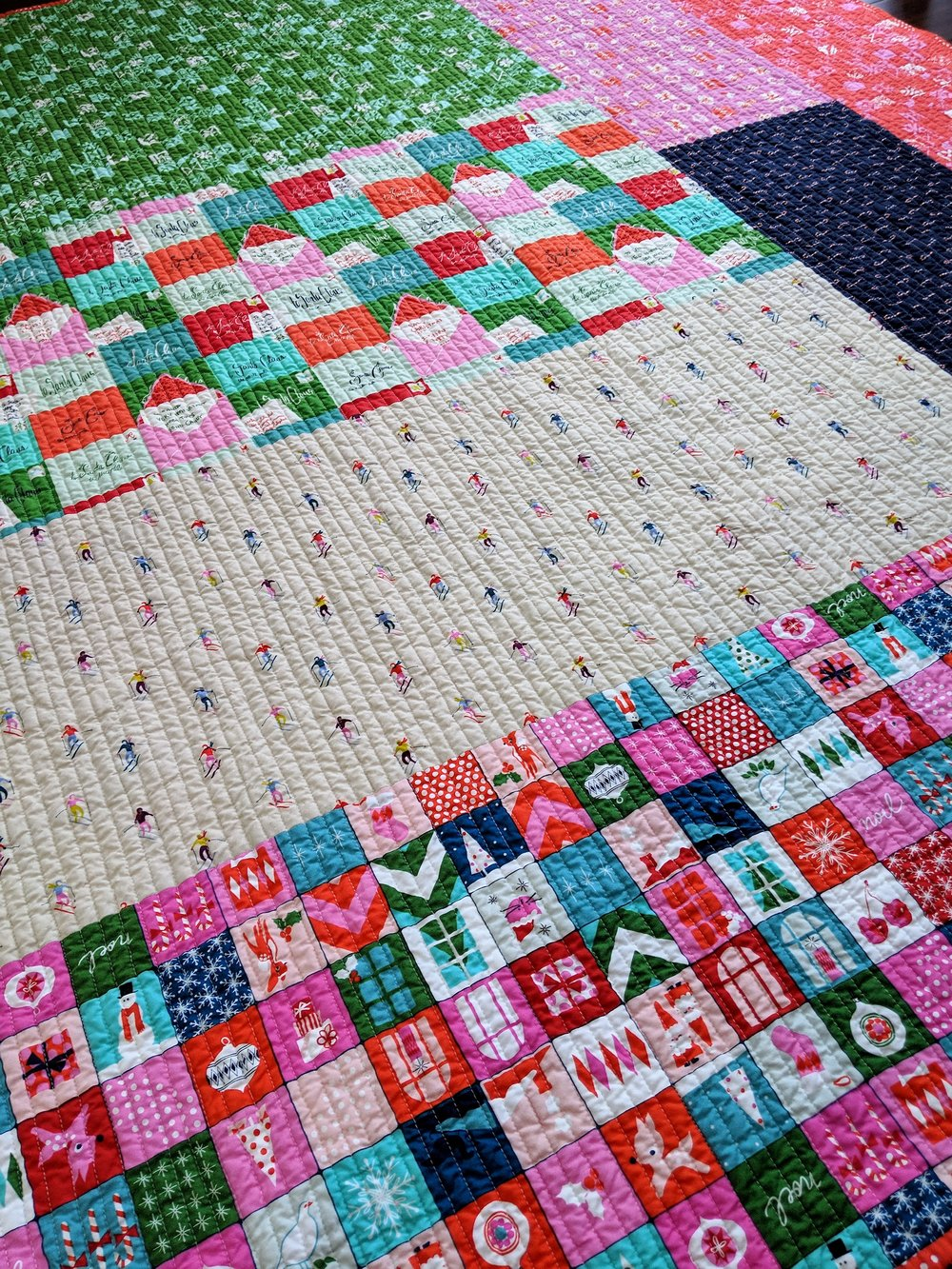 … and one of the pieced back