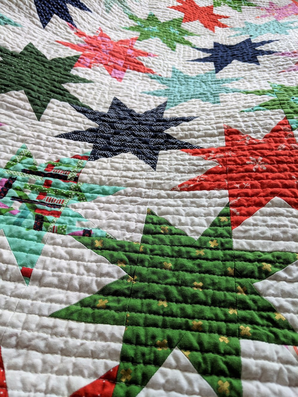 Up close and personal with the quilting