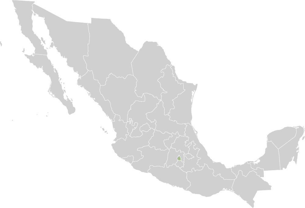 Ezqueda's chimneys are made in Mexico City, Mexico.