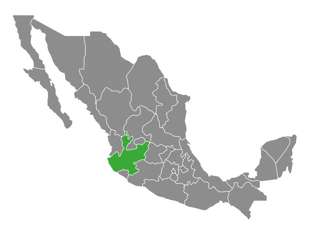 Las piezas de La silla Acapulco son elaboradas en el Estado de Jalisco, México.