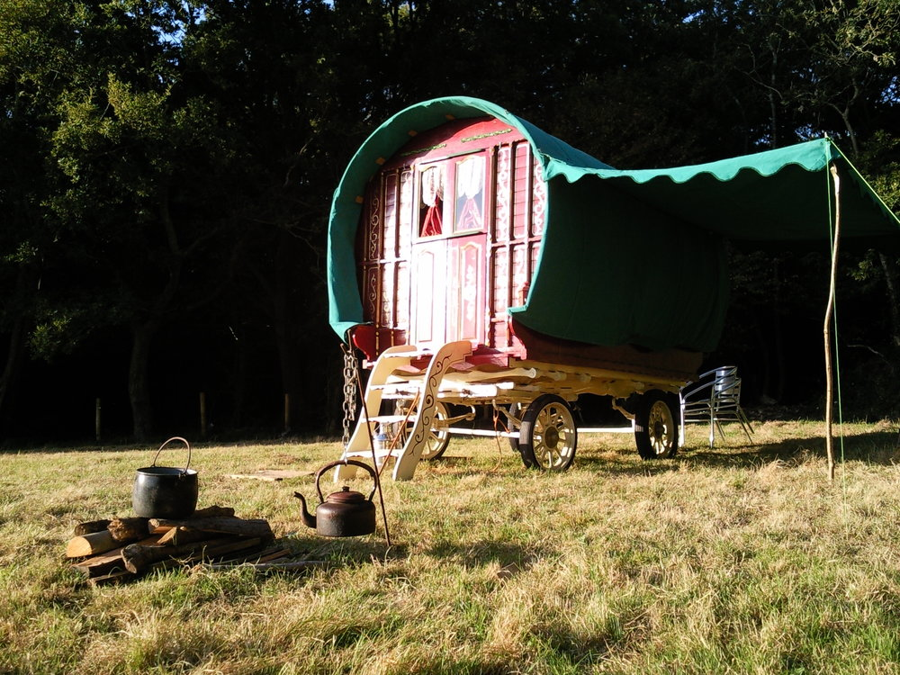 Gypsy Wagon at Greenland Glamping