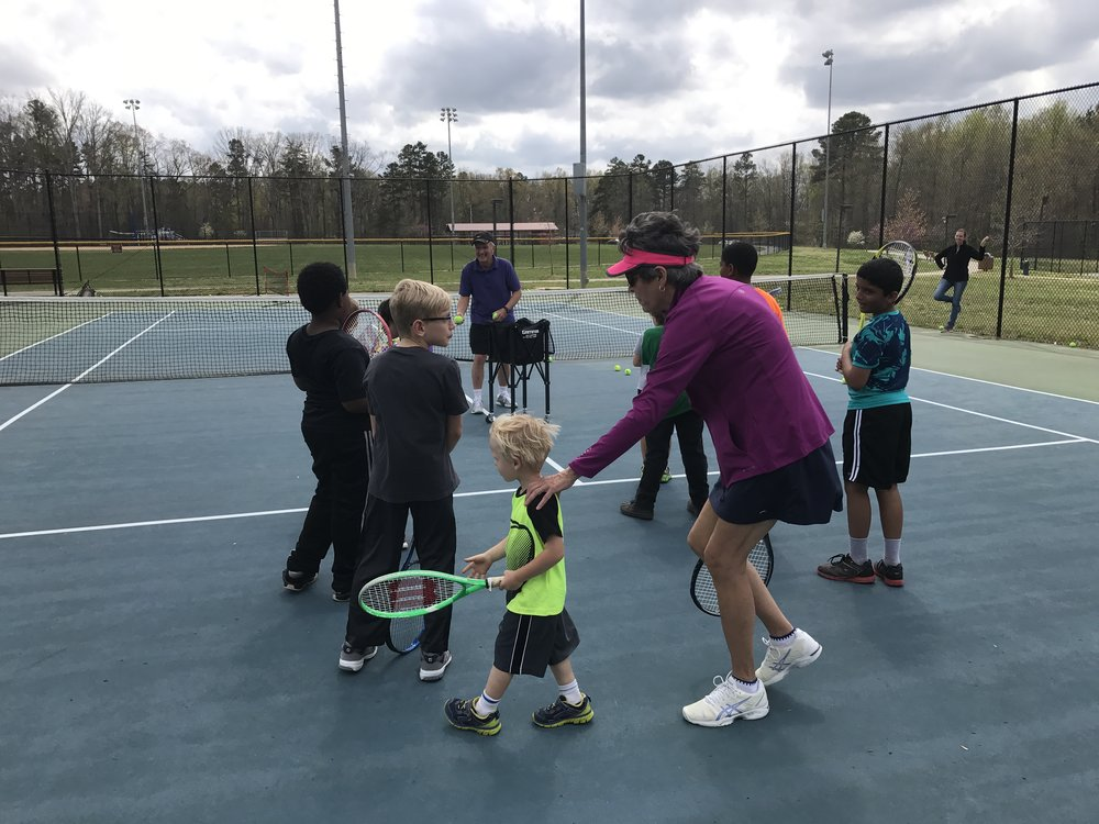 a non profit community based organization   Orange Tennis Club    Learn more
