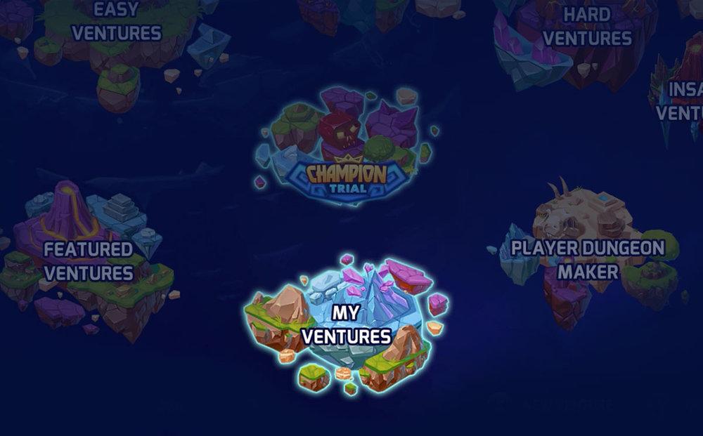 My Ventures island