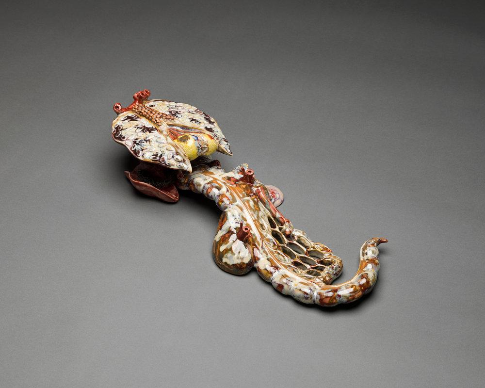 Ruyi , 2012, Porcelain,Courtesy of Ai Weiwei Studio & Sakip Sabanci Museum / Ai Weiwei Studio ve Sakıp Sabancı Müzesi izniyle.