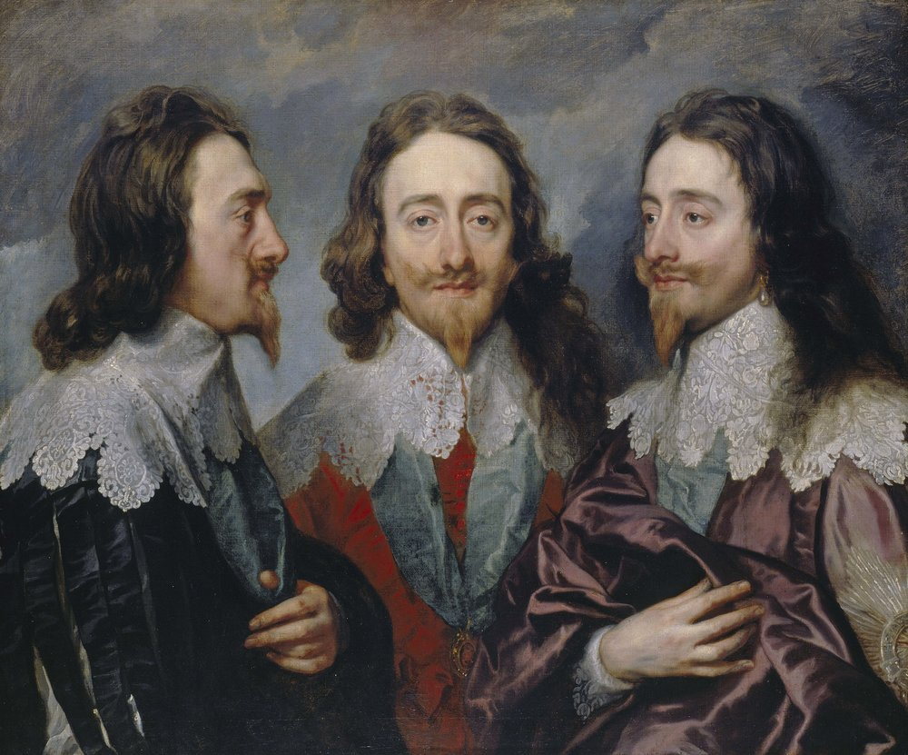 Anthony van Dyck, Charles I, 1635-6, Oil on canvas, 84.4 x 99.4 cm, Royal Collection Trust / © Her Majesty Queen Elizabeth II 2017.
