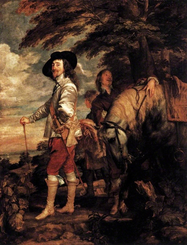 Anthony van Dyck,  Charles I in the Hunting Field , c. 1636, oil on canvas, 2.7 x 2.1 m. Courtesy: Musée du Louvre, Paris, Department of Paintings; photograph: © RMN-Grand Palais (Musée du Louvre), Christian Jean.