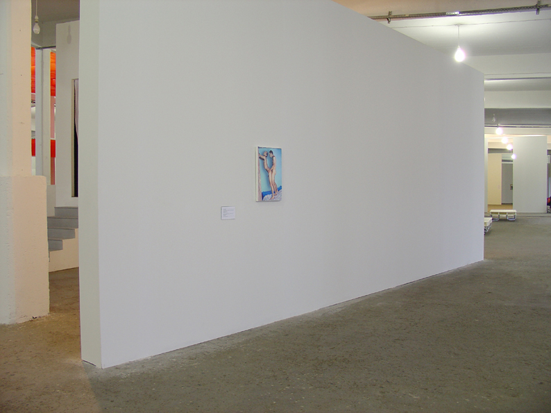 """Installation view from 8th Istanbul Biennial """"Poetic Justice"""", Paintings by Taner Ceylan. Curator: Dan Cameron. Courtesy of Taner Ceylan and Paul Kasmin Gallery."""