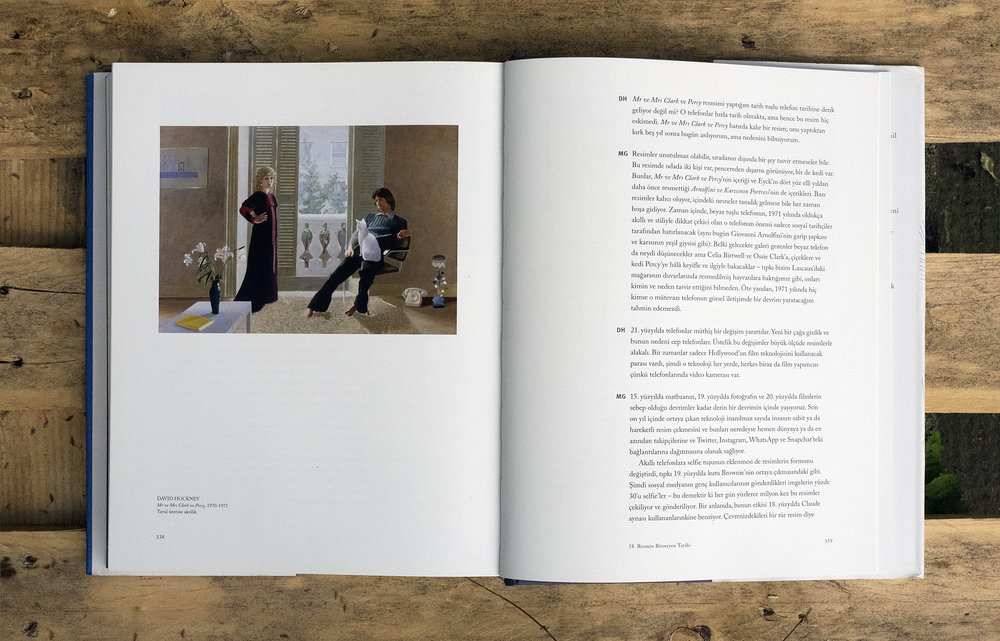 A History of Pictures, David Hockney and Martin Gayford, Y.K.Y. Publishing. Photos: Zeynep Beler.