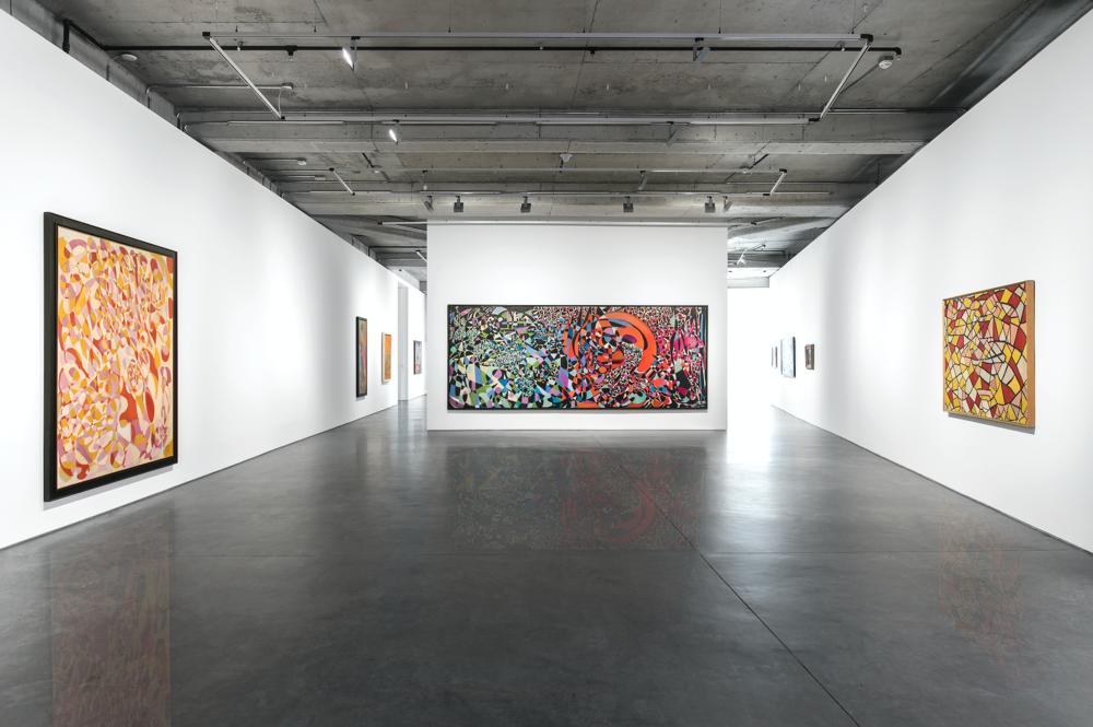Fahrelnissa Zeid, 'Ode to Passion', Dirimart 2018. Installation Shots by Nazlı Erdemirel.