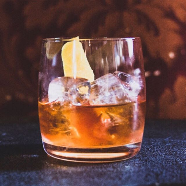 CUT SMOKED RUM - stirred down with a bit of Amaro and a twist of orange... Simple and down right delicious  #rum #smokedrum #cutrum #cuttotherum #tasty #amaro #cocktails #bartenderlife #drinks #tasty #more rum #smokespirits #CUT #RUM