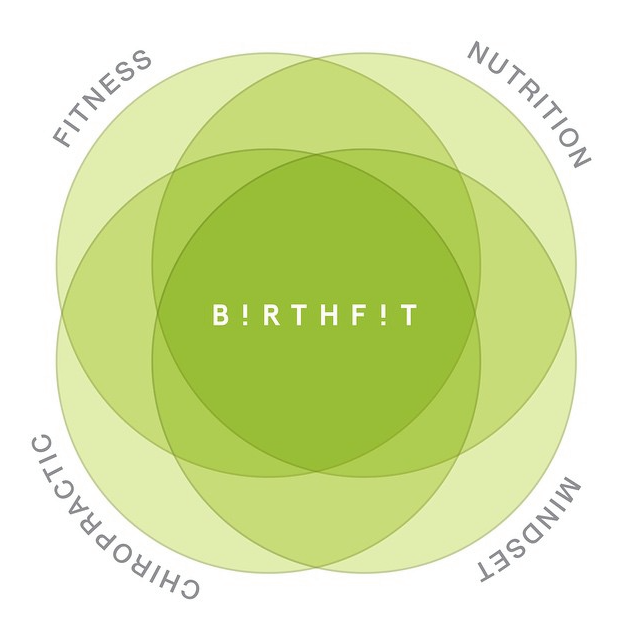 BIRTHFIT - BIRTHFIT is an empowered, educated state of readiness, BIRTHFIT is a movement. BIRTHFIT is an approach to birth. Our pillars are fitness, nutrition, chiropractic & mindset.