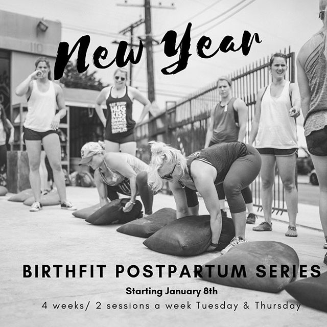 P O S T P A R T U M • S E R I E S • One week left to sign up! • Series starts January 8th • More info by clicking link in the bio or visiting birthfitsandiego.com • See all you new mamas there! • • • • • #birthfitsandiego #birthfit #birthfitcoach #fitness #nutrition #connection #mindset #postpartum #postpartumfitness #postpartumjourney #functionaltraining #movementislife
