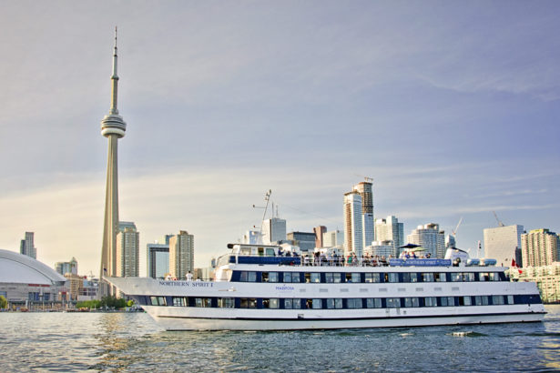 "Our boat cruise is an event you will definitely not want to miss! Including past themes like ""Wacky Tacky"" and ""Masquerade,"" this event is usually held in the evening on a boat, cruising Lake Ontario. You will be able to enjoy the skyline of Toronto and see the CN Tower light up the night sky while dancing to some of your favourite songs."