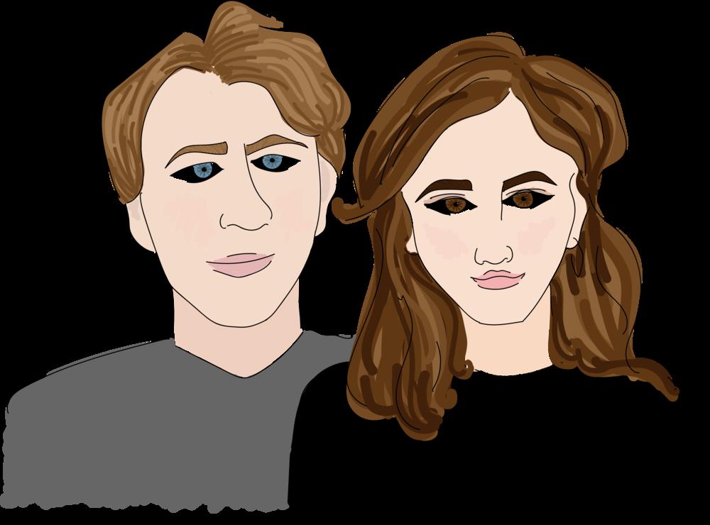 Steven and Madeleine