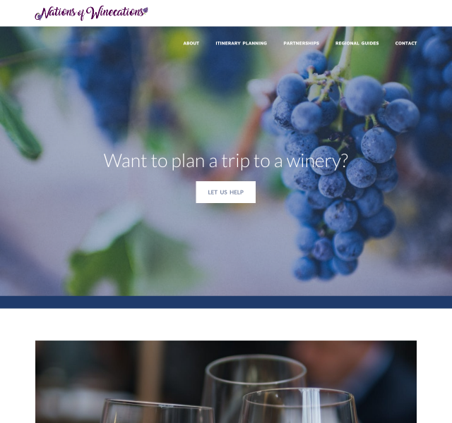 Nations of Winecations - Built on Squarespace.