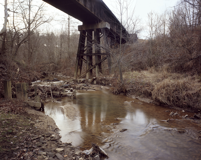 Rail Bridge, Smith Mill Creek, Asheville, North Carolina, 2006