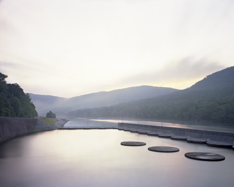 Raccoon Mountain Pumped Storage Plant Outflow, Tennessee River, Chattanooga, Tennessee, 2010