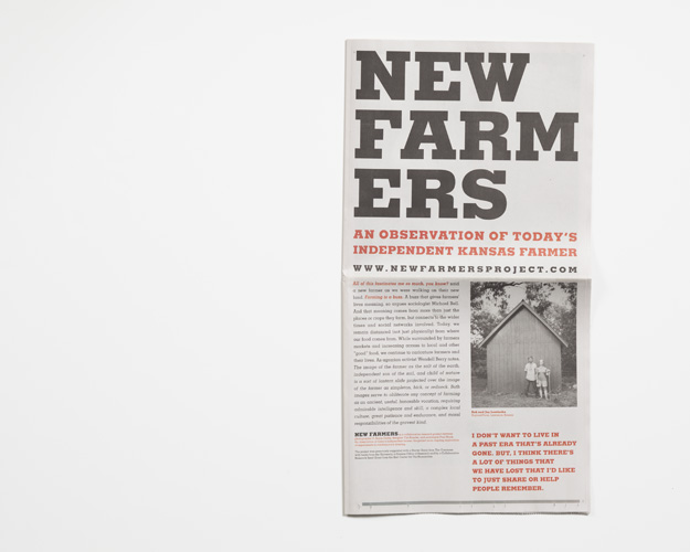 Offset Newsprint, 11 x 21.5 inches, 24 pages (with Hossler & Stock)
