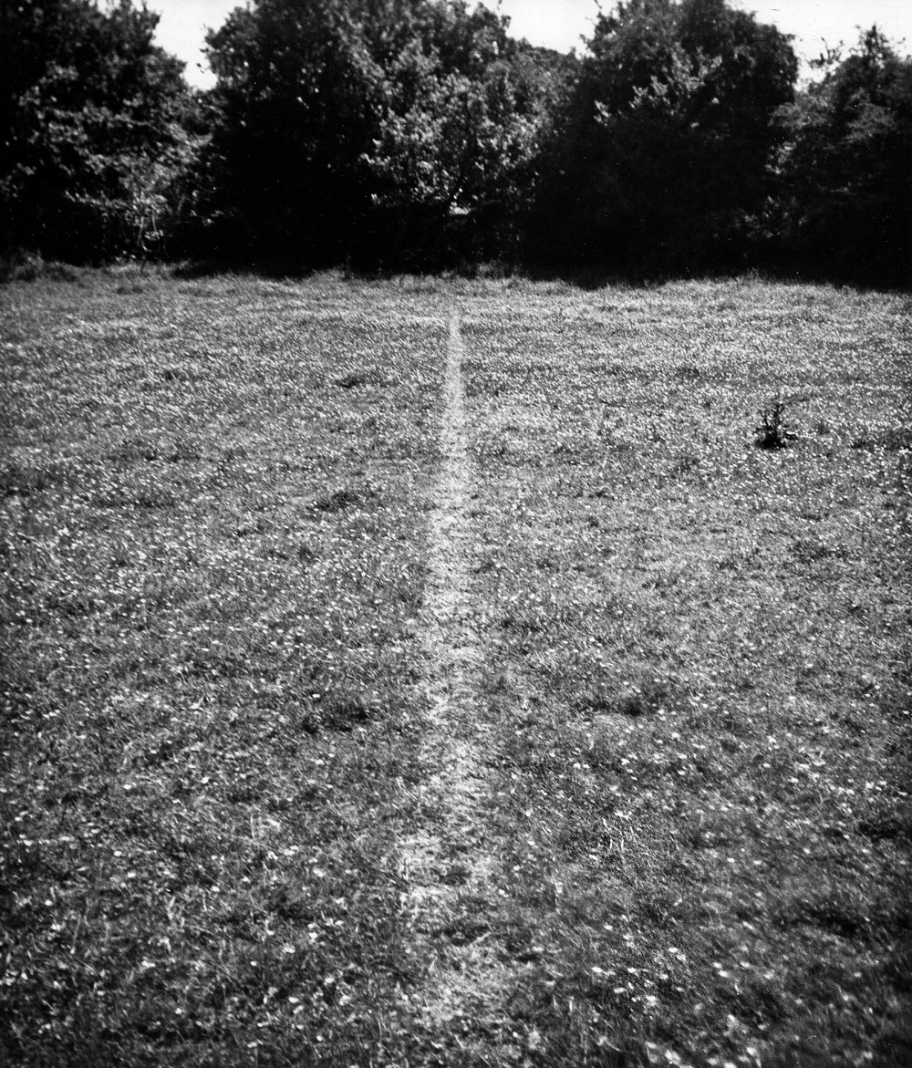 A Line Made By Walking, England 1967