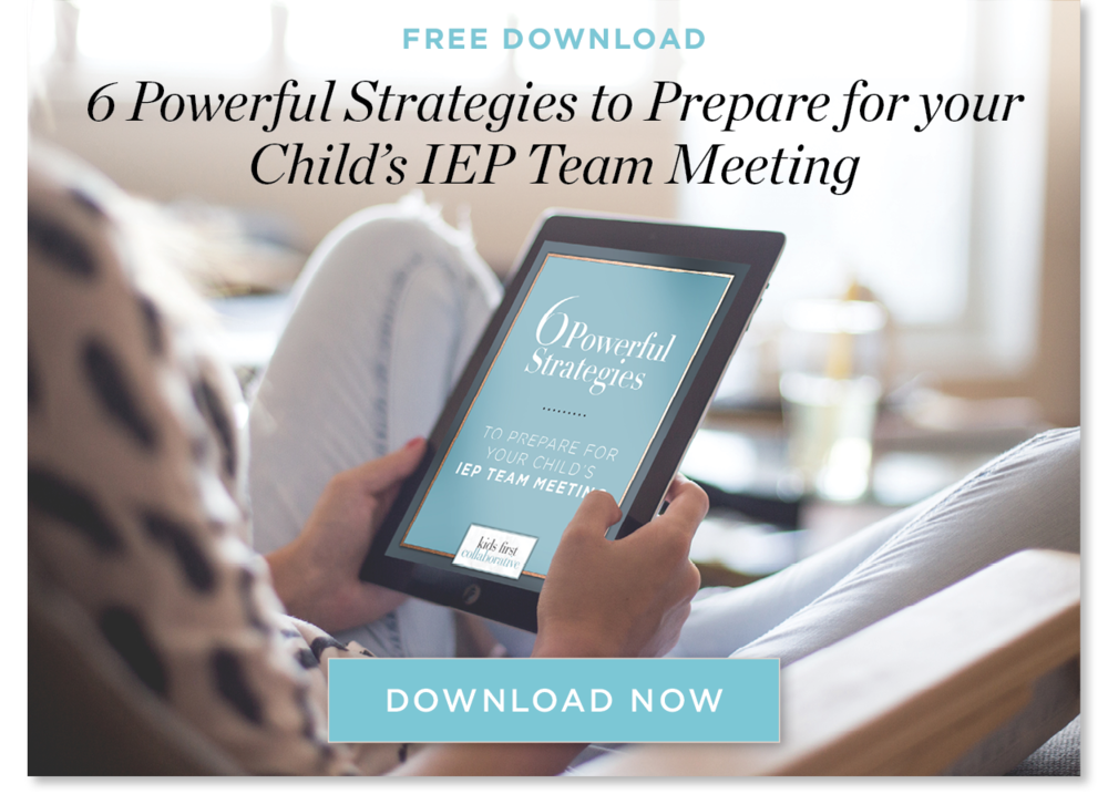 IEP Meeting Strategies Special Education Advocate IEP Consultant Chicago Illinois