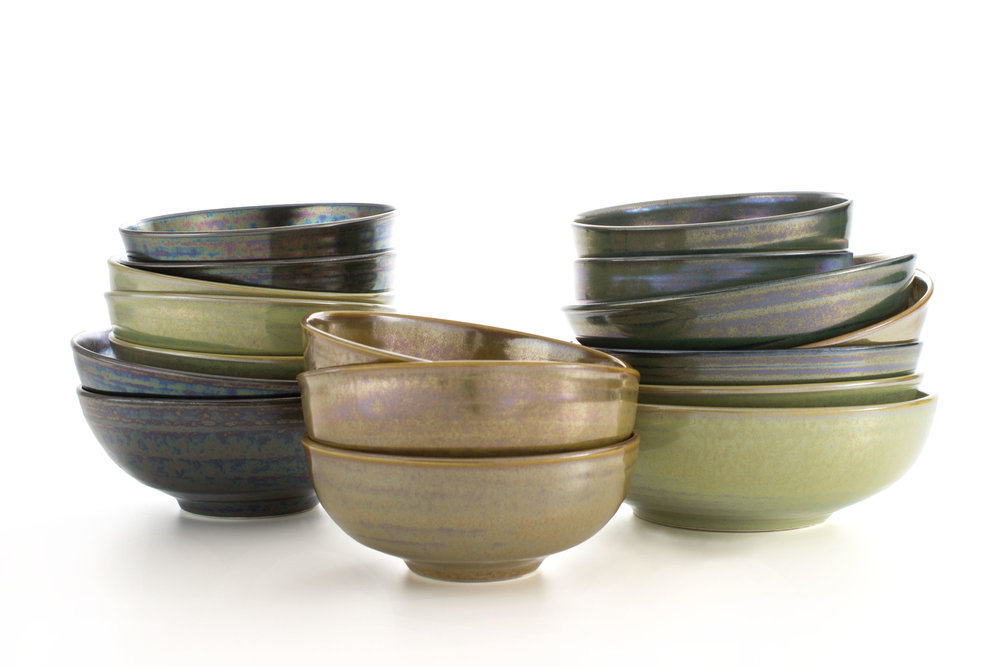 SB series - These small bowls are sized for individual use and are available in three sizes. 5