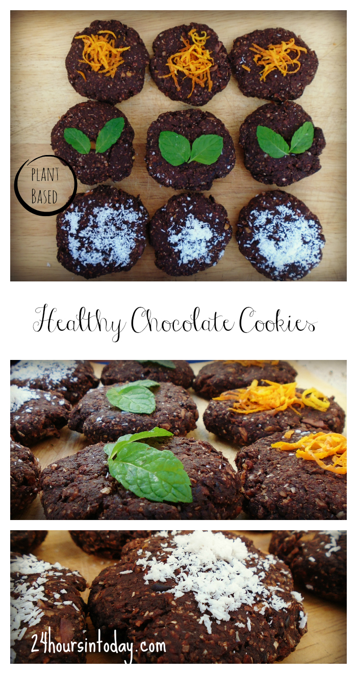 Healthy Chocolate Cookies - 24 Hours In Today Blog