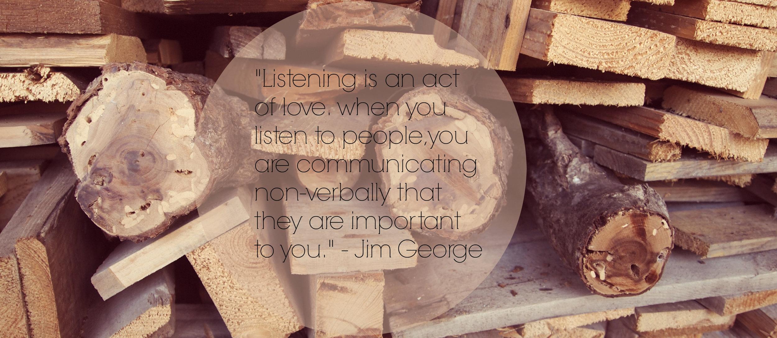 actively listen