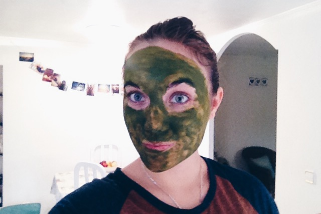 matcha green tea face mask