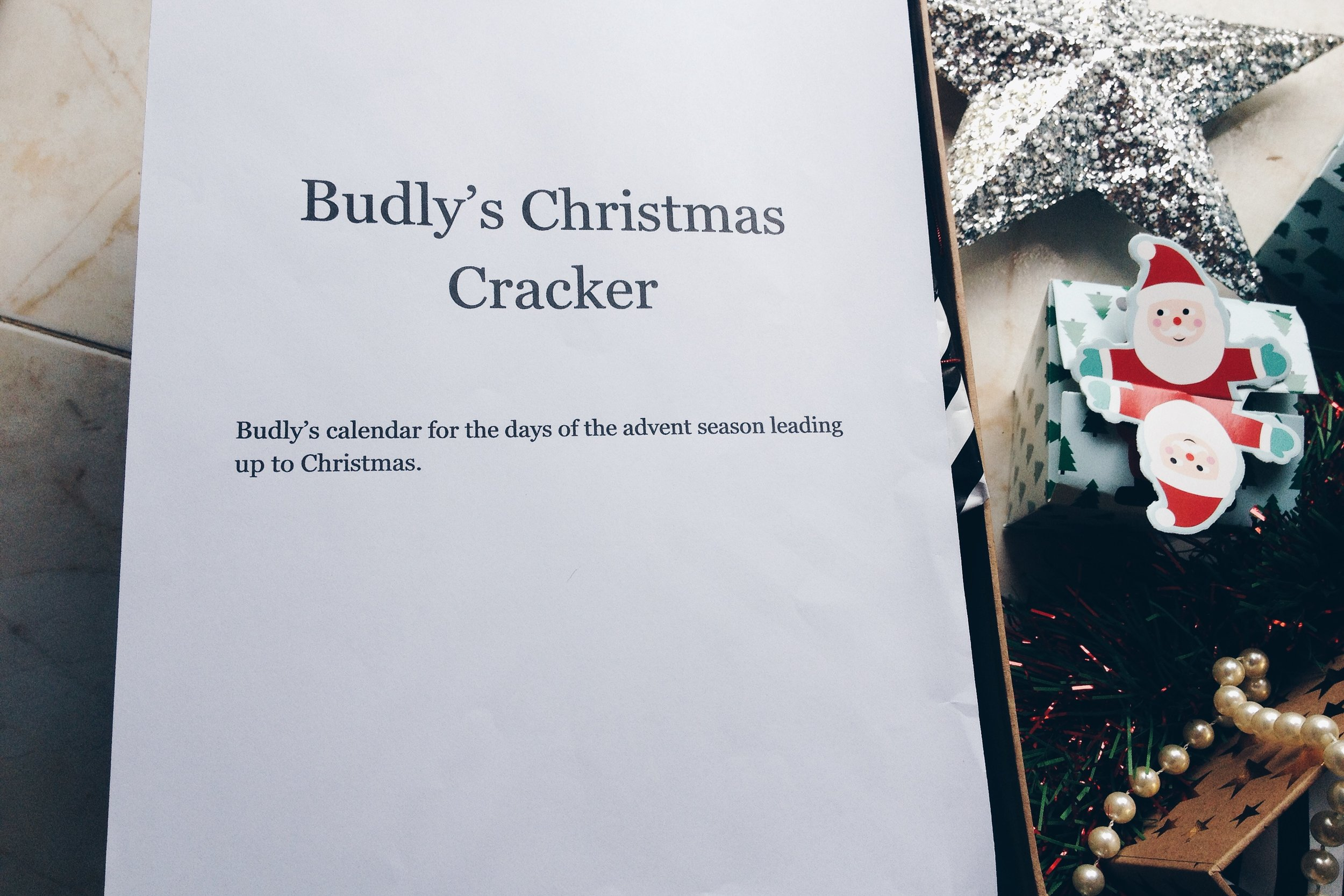 dad advent calendar