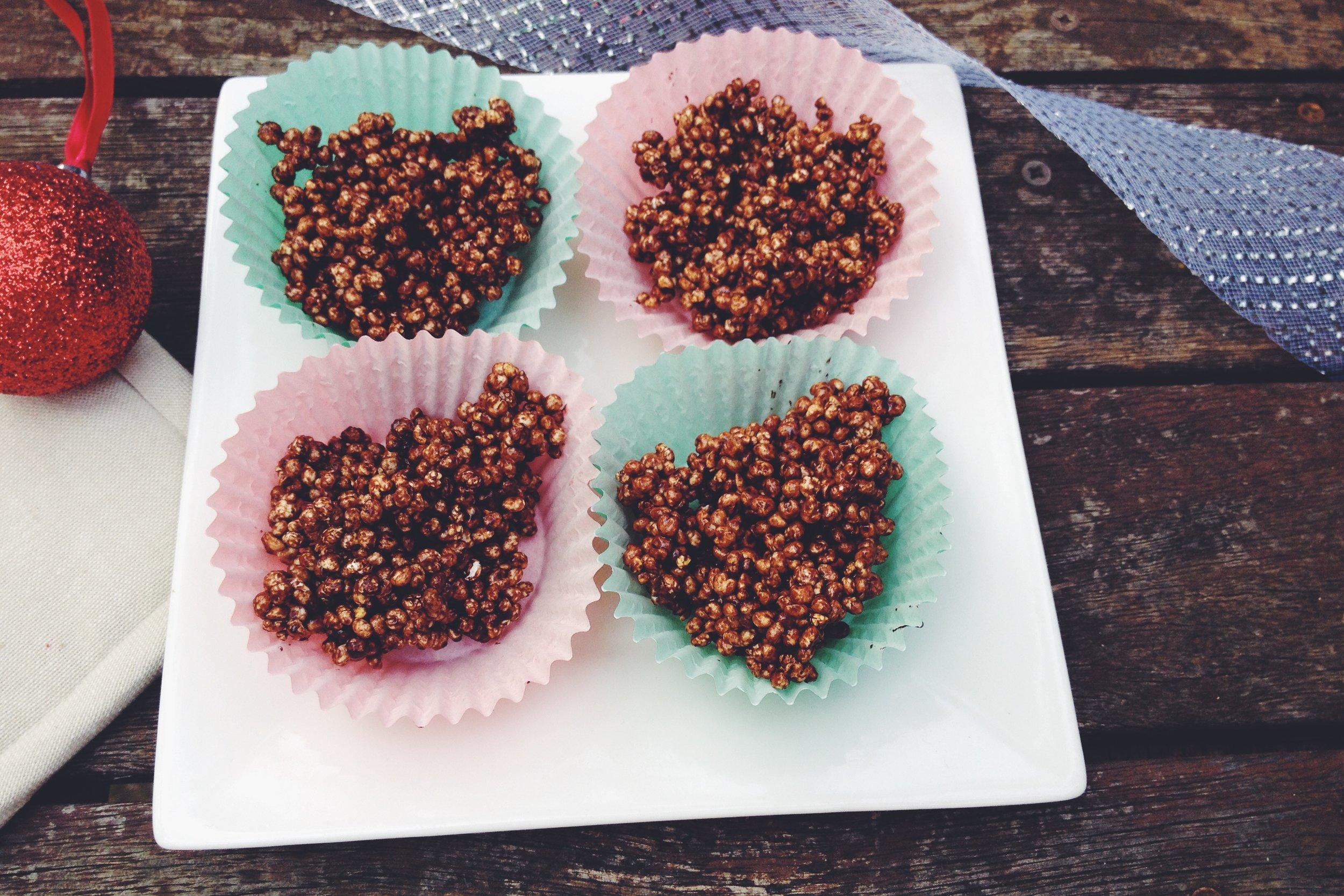 healthy crispie cakes