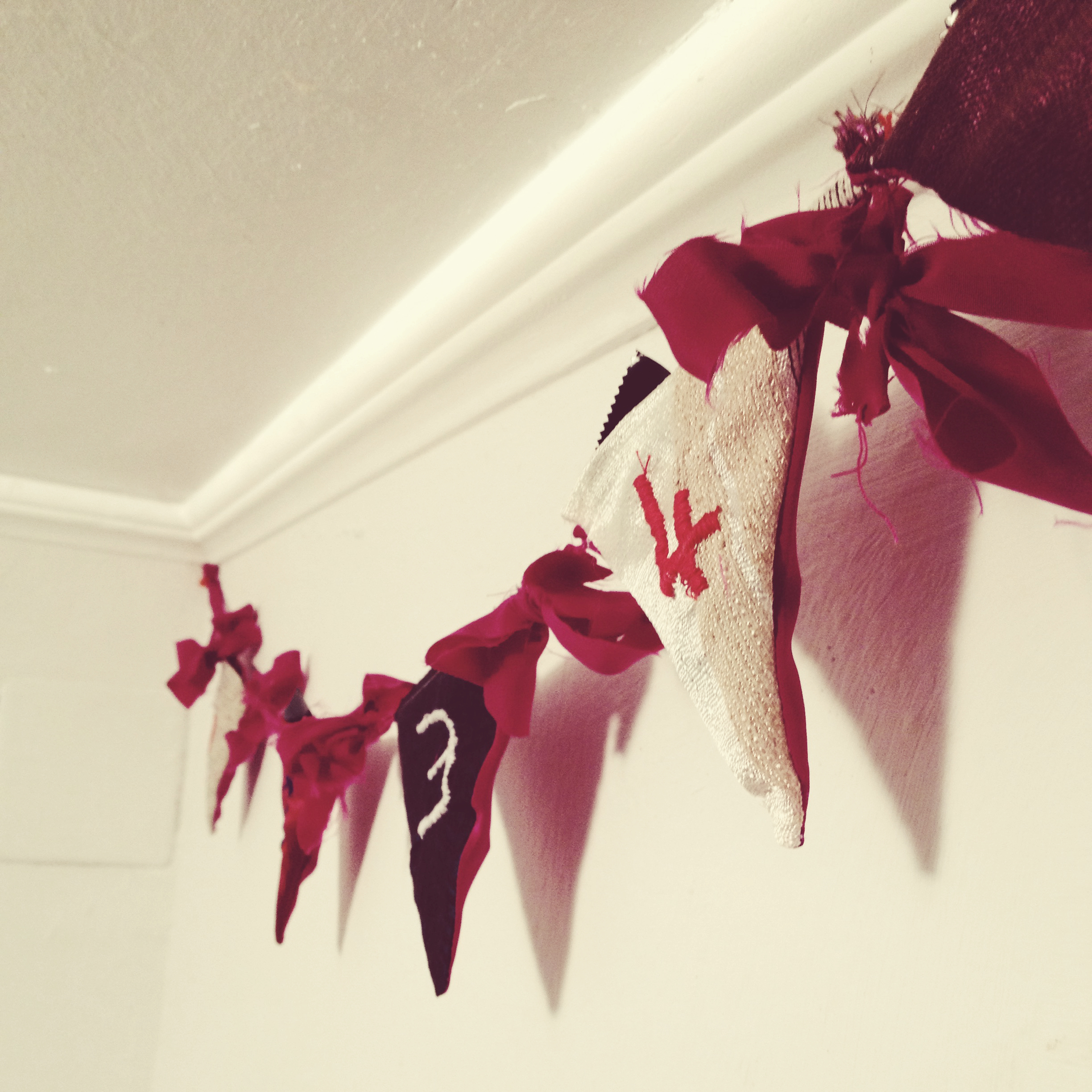 advent bunting