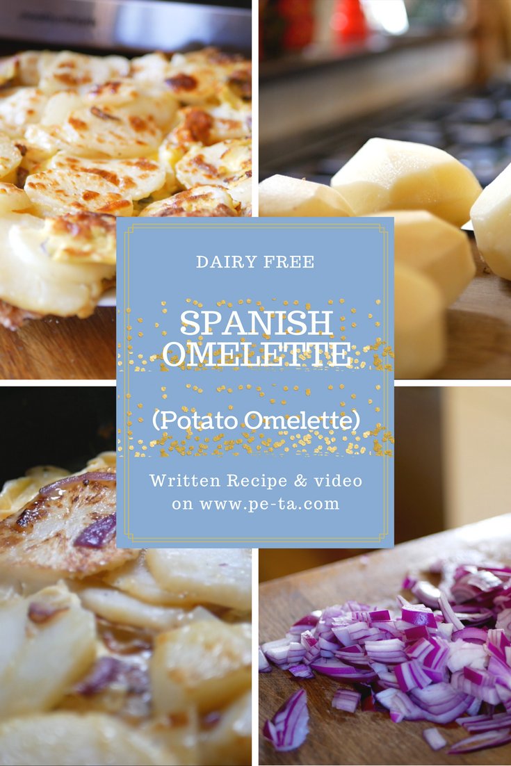 Spanish Omelette Recipe - From pe-ta.com