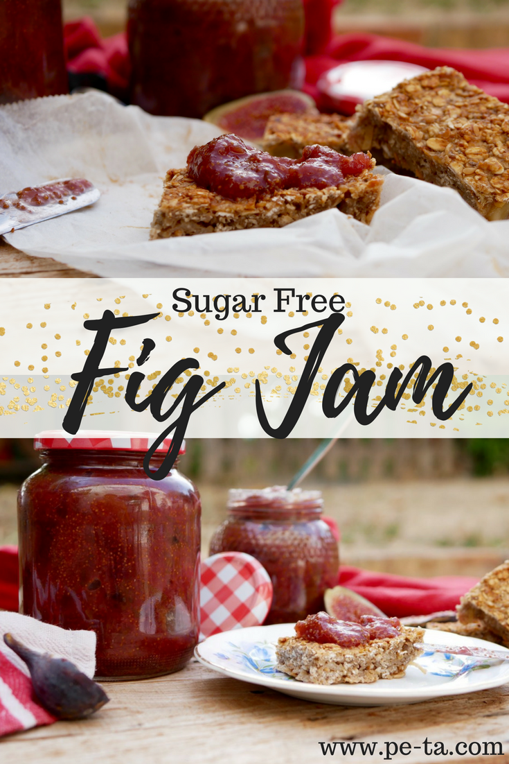 Fig Jam Recipe with No Added Sugar.