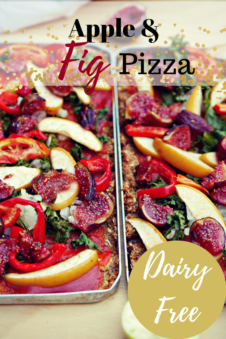 Apple & Fig Pizza with Cauliflower Base